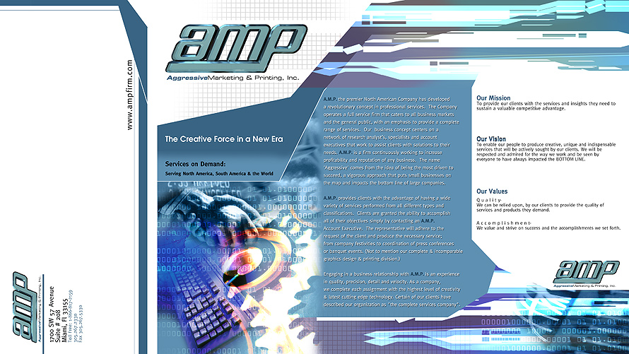 AMP Aggressive Marketing and Printing, Inc.