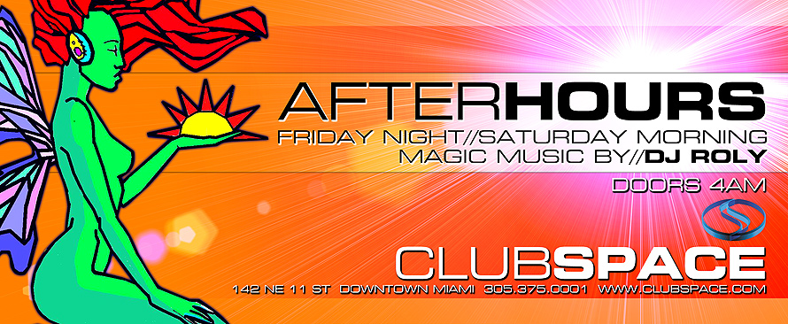 After Hours Friday Nights at Club Space