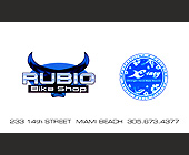 Rubio Bike Shop Comp Card Space - Nightclub