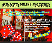 Grand Online Casino - Casino Graphic Designs