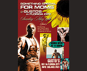 Something Special for Moms at Gusto's in Florida City Sunday - tagged with flower