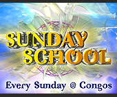 Sunday School Event at Congos - designed by Digital