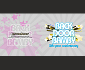 Back Door Bamby at Crobar - Sell Sheet Graphic Designs