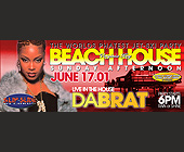 DaBrat Live at The Beachhouse - tagged with shirt