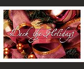Deck the Holidays - tagged with ornaments