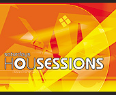 House Sessions at Club Space - tagged with orange
