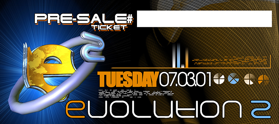 Evolution 2 Pre Sale Ticket