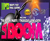 Mad House La Boom MTV Casting Party - 875x1063 graphic design