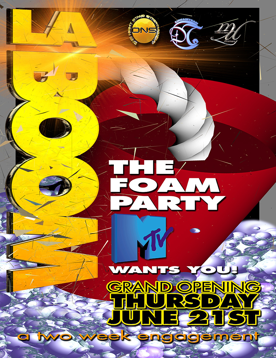 La Boom Foam Party at Madhouse
