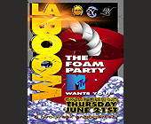 La Boom Foam Party at Madhouse - tagged with fireworks