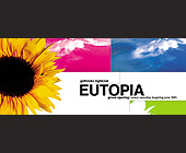 Eutopia at Gottrocks Nightclub - 1050x2550 graphic design