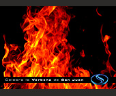 Celebra La Verbena de San Juan at Club Space - tagged with flames