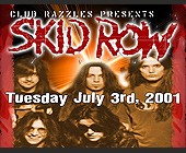 Skid Row Performing at Club Razzles - Rock Graphic Designs