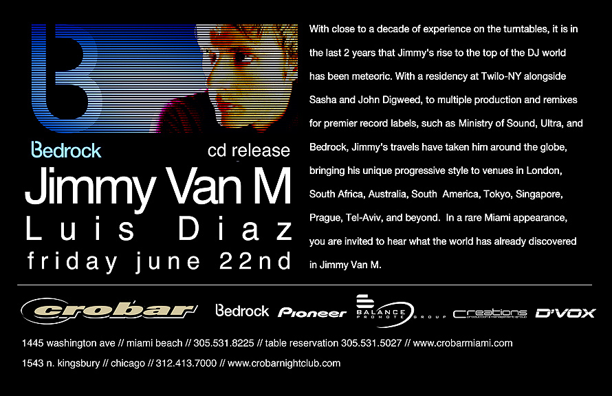 Jimmy Van M & Luis Diaz at Crobar