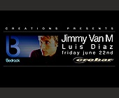 Jimmy Van M & Luis Diaz at Crobar - tagged with 312.413.7000