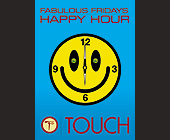 Fabulous Fridays at Touch - tagged with happy hour