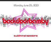 Back Door Bamby Mondays at Crobar - Bars Lounges