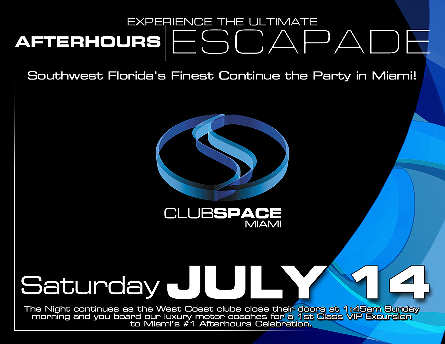 After Hours Escapade at Club Space in Downtown Miami