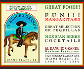 El Rancho Grande Mexican Restaurant - tagged with great food