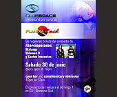 Paulina Rubio Official After Party at Club Space - tagged with glasses