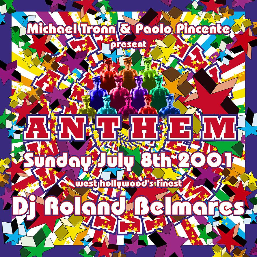 Anthem Roland Belmares at Crobar