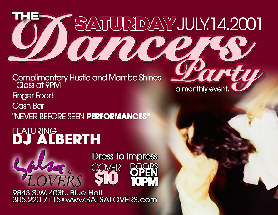 The Dancers Party at Blue Hall