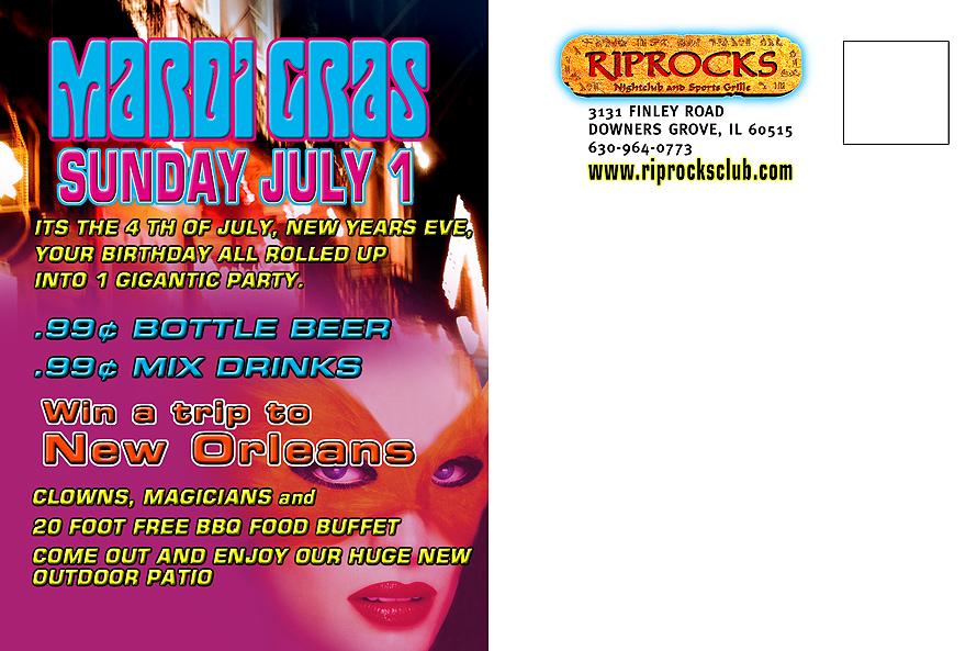 Riprocks Nightclub and Sports Grill Mardi Gras