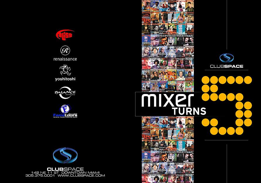 Club Space Mixer Magazine