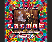 Anthem on Sunday at Crobar - tagged with david villalba