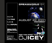 Dream World at Club Space - tagged with dj icey