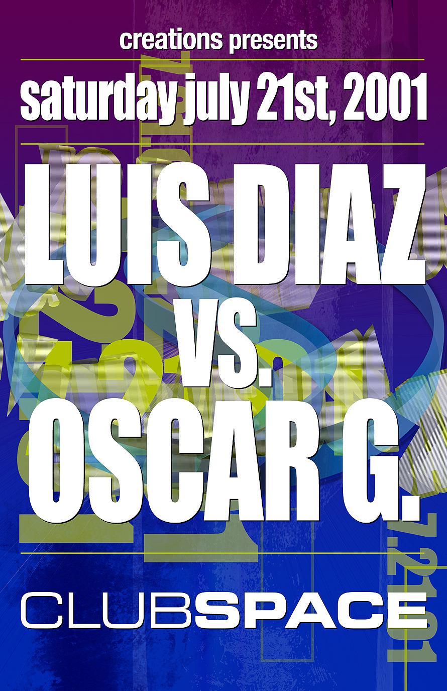 Luis Diaz vs Oscar G at Club Space