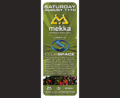Mekka Electronic Music Tour at Club Space - tagged with audience