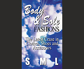 Body and Sole Fashions - tagged with clothes