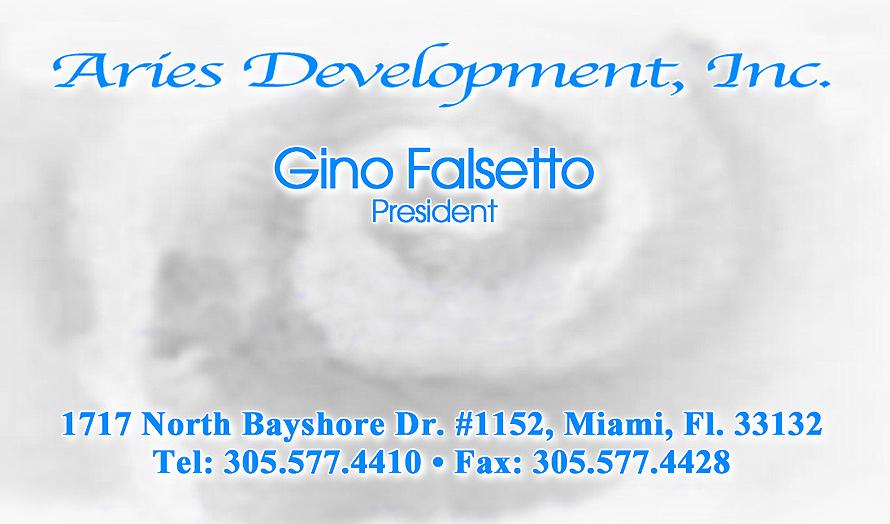 Aries Development Inc.