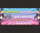 One Year Anniversary at Crobar - Flyer Printing