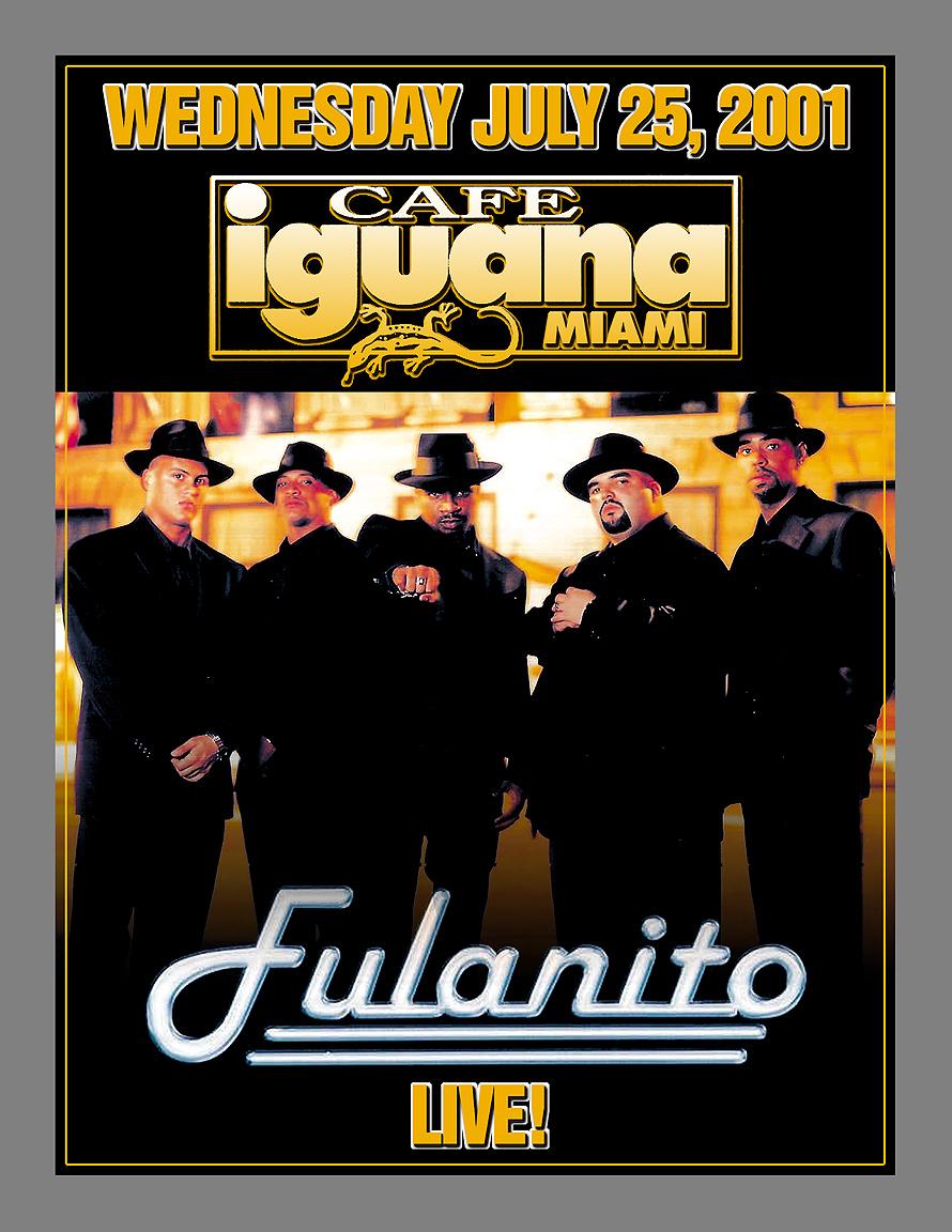 Fulanito Live at Cafe Iguana