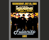 Fulanito Live at Cafe Iguana - tagged with el zol 95 logo