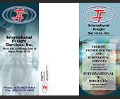 International Freight Services, Inc. - 11x8.5 graphic design