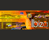 Ibiza at La Covacha - 1275x3300 graphic design