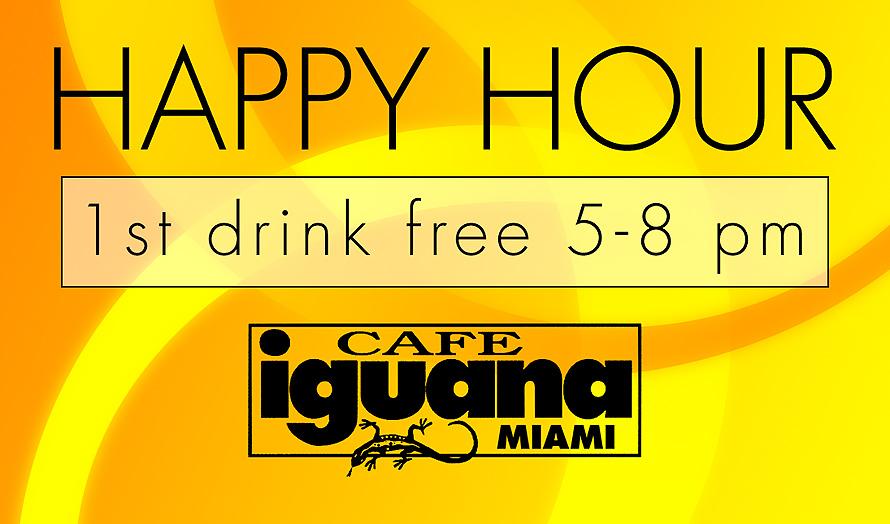 Cafe Iguana Kendall Happy Hour