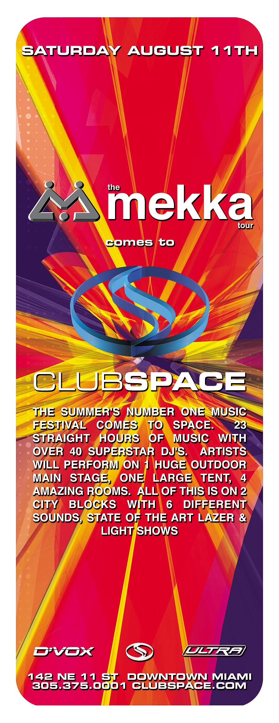 Club Space Mekka