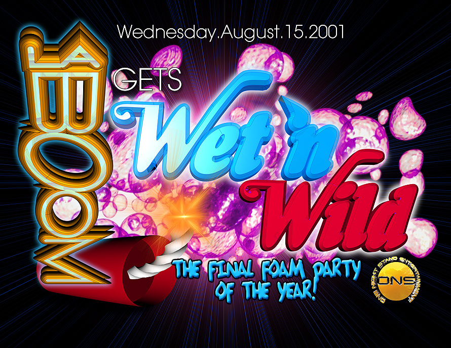 La Boom Gets Wet 'n Wild at Mad House
