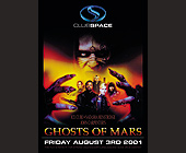 Ghost of Mars Release Party at Club Space - tagged with 9 pm