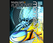 Momentum at The Groove in CityWalk - tagged with 2001 universal