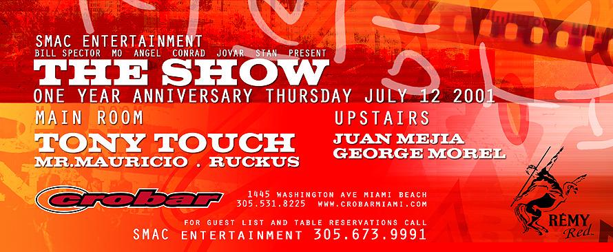 The Show at Crobar in Miami Beach