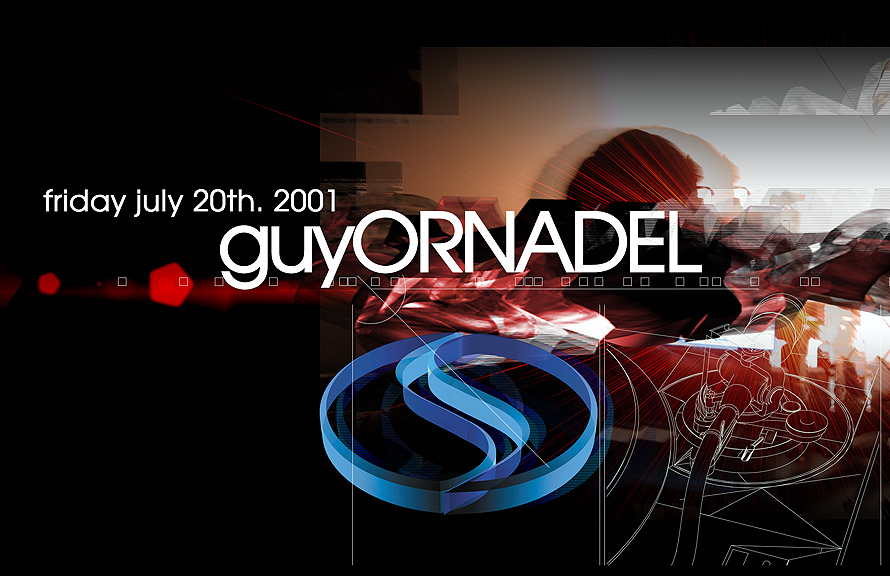 Guy Ornadel at Club Space