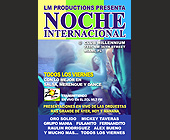 Noche Internacional at Club Millennium - created August 01, 2001