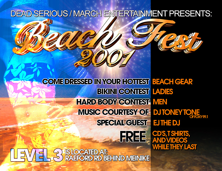 Beach Fest at Level Three