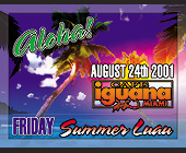 Aloha Friday Summer Luau at Cafe Iguana Miami - tagged with town