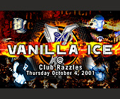 Vanilla Ice Live at Club Razzles - tagged with tickets